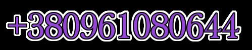 +380961080644